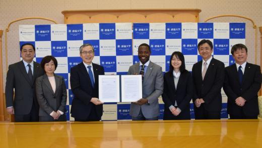 Exchange Agreement Concluded Between Soka University And The Food
