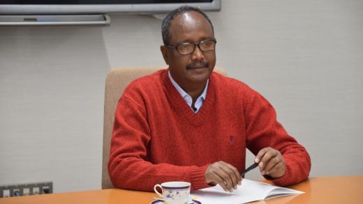Professor Berhanu Belay (President of Injibara University and Vice