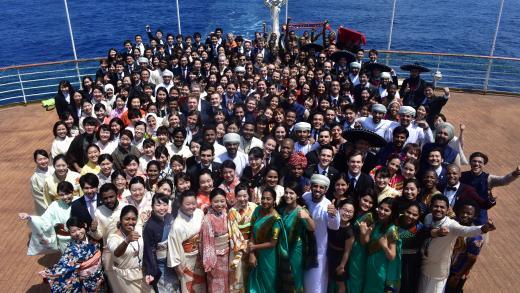内閣府主催の青年国際交流の一つ「世界青年の船」事業に本学 ...