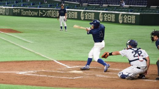 全日本大学野球選手権大会で硬式...